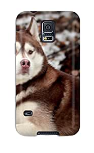 Durable Protector Case Cover With Animal Wolf Hot Design For Galaxy S5