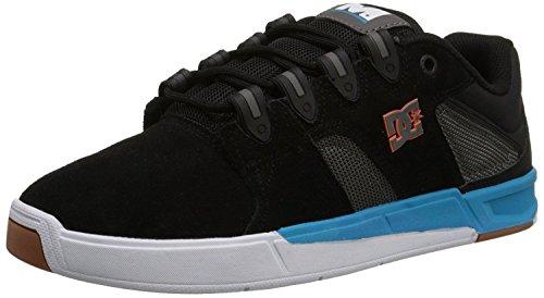 DC Mens Maddo Skate Shoe, Negro/Turquesa, 39 D(M) EU/6 D(M) UK