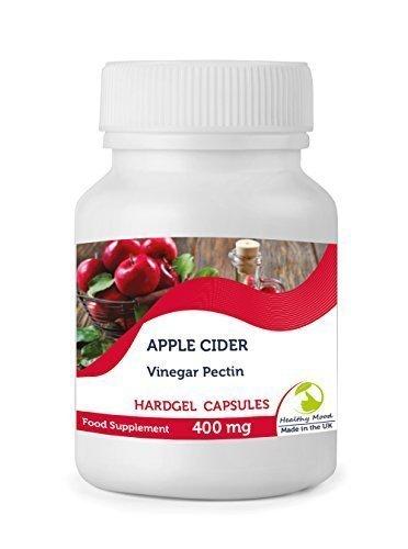 Puro Vinagre de sidra manzana PECTINA 400mg Salud Suplemento Alimenticio Vitaminas 30/60/90