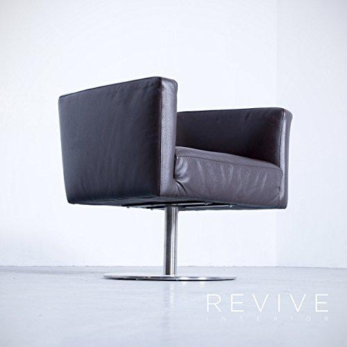machalke Crack 95 giratorio silla de piel marrón monoplaza ...
