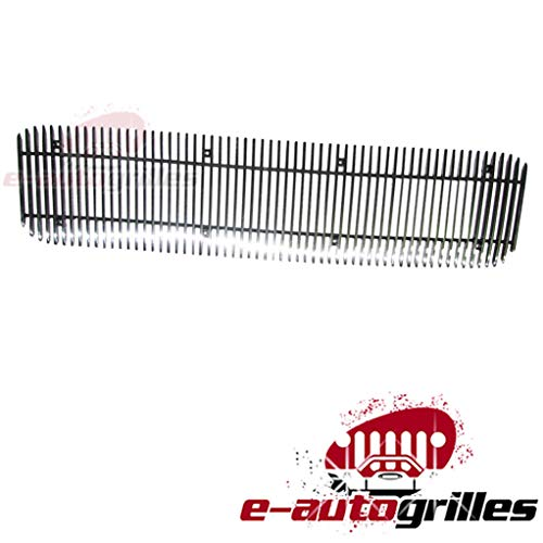EAG Vertical 1PC 4mm Cutout Billet Grille for 98-04 GMC Sonoma / 98-01 GMC Jimmy