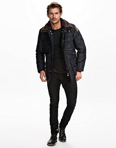 Parajumpers - MP Anthology Portland - Homme Marine Taille X-Large 100% polyester. rembourrage 100% polyester.: Amazon.fr: Vêtements et accessoires