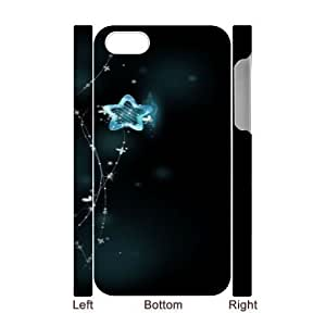 3D Bumper Plastic Case Of Starfish customized case For iPhone 5 5s