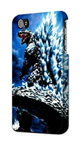 S1551 Godzilla Giant Monster Case Cover For IPHONE 5 5S