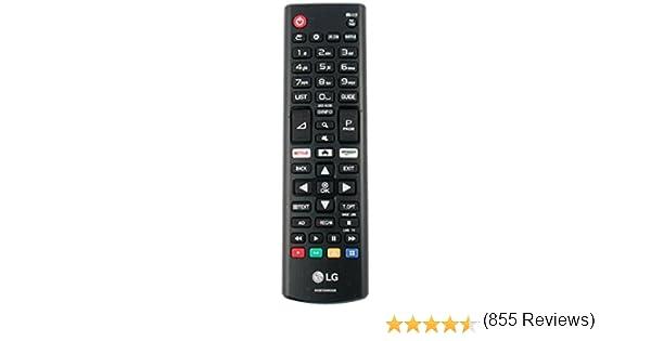 Control Remoto Genuino para LG Ultra HD TV AKB75095308 con Botones Amazon de Netflix: Amazon.es: Electrónica