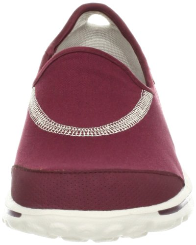 SKECHERS GOwalk Zapato Señora, Burdeos, 37 Red