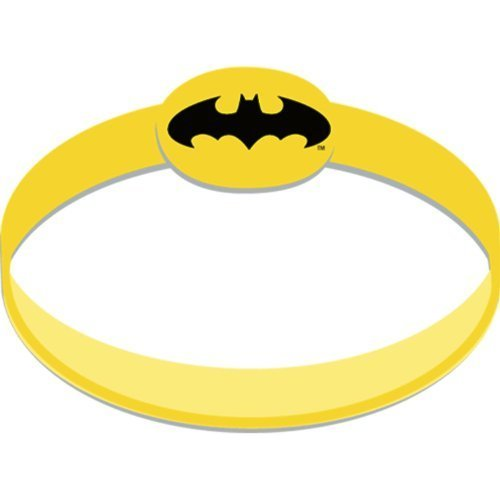 Batman The Dark Knight Rubber Wristbands (4) Party Supplies