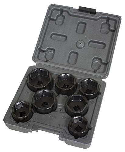 Lisle 13270 7 PC FILTER SOCKET SET