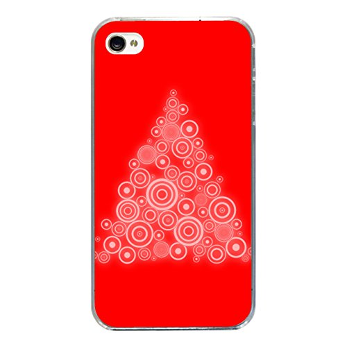 "Disagu Design Case Coque pour Apple iPhone 4s Housse etui coque pochette ""X-Mas Tree"""