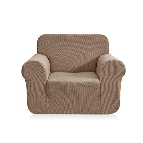 CHUN YI Jacquard Sofa Covers 1-Piece Polyester Spandex Fabri