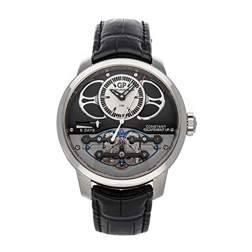 Girard-Perregaux-Constant-Escapement-Mechanical-Hand-Winding-Silver-Dial-Watch-93505-21-631-BA6E-Pre-Owned