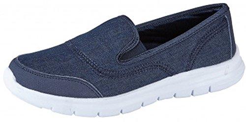 RTB - Zapatillas para mujer azul vaquero