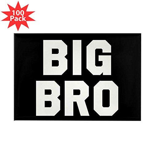 CafePress - Big Bro - Rectangle Magnet (100 pack) by CafePress