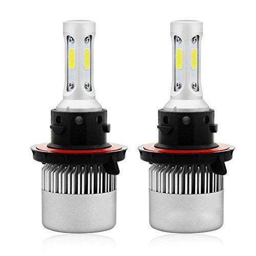 RoseSummer H13 9008 200W 20000LM CREE LED Headlight Kit Hi/Low Beam Bulb White 6000K Power For Sale
