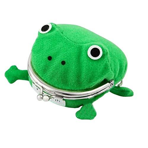 Frog Coin Purse Naruto Wallet Anime Coin Purse Green Frog Wallet School Prize Gifts (Purse Wallet Naruto)