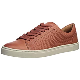 Frye Women's Ivy Low Lace Sneaker, Rosewood, 9.5 Medium US