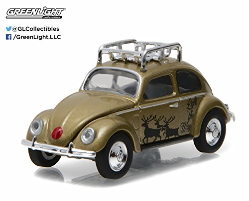 Greenlight 1:64 Holiday Collection Hobby Exclusive Volkswagen Beetle