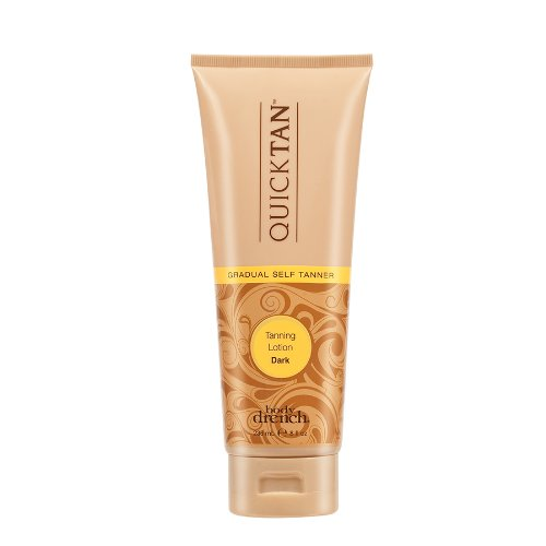 Body Drench Quick Tan Gradual Tanning Lotion, Dark, 8 Ounce