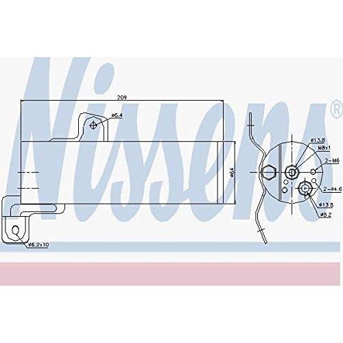 Nissens 95497Filter deshidratante, Air Conditioning by Nissen