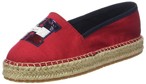 Sequins 611 TH Tommy Tango Damen Rot Hilfiger Red Espadrilles AO6qPtq4cw