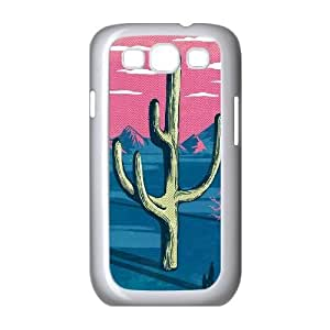 Customized Samsung Galaxy S3 I9300 Case, CACTUS quote Cheap Phone Case