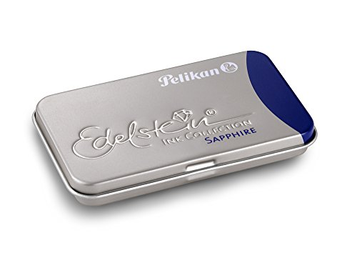 Pelikan Refills Edelstein Sapphire Blue Fountain Pen Cartridge - 339630