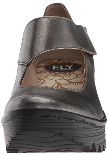 Women's Fly London London Black Silver Women's Fly gqFxxwTR6