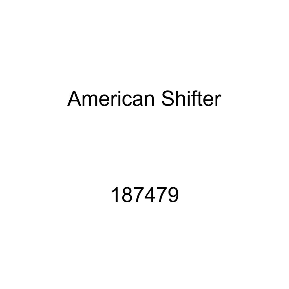 American Shifter 187479 Blue Retro Metal Flake Shift Knob with M16 x 1.5 Insert Orange Jesus Fish
