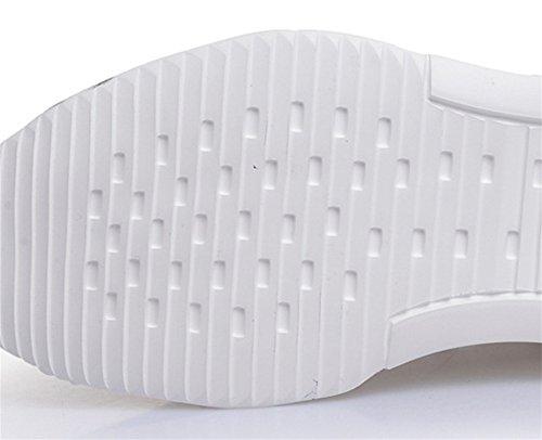 38 Uomo 43 Nero Xie White Leather Casual Sport Scarpe Tide Estate Primavera Ozvdwq6z