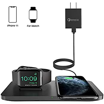 Amazon Com Seneo Fast Wireless Charger With Qc 3 0