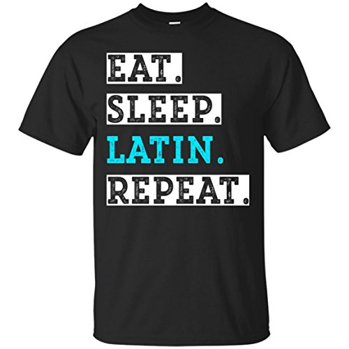 4e21e493b Dolphintee Latin Funny T-Shirt Student Back to School Tee Shirt As Gift