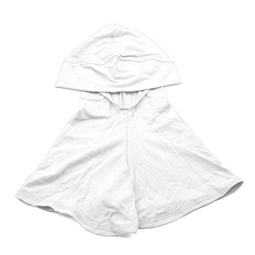 DDU 1Pcs White- Cotton Islamic Turban Head Wear Neck Chest Cover Bonnet Hijab Hat Scarf for Women Lady Girl