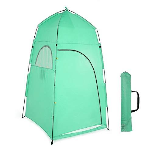 YBBWAN Tente   Portable Plage extérieure Pêche Camping Toilette Dressing Douche Tente Salle de Bain Sac de Rangement Sac   Vert  -