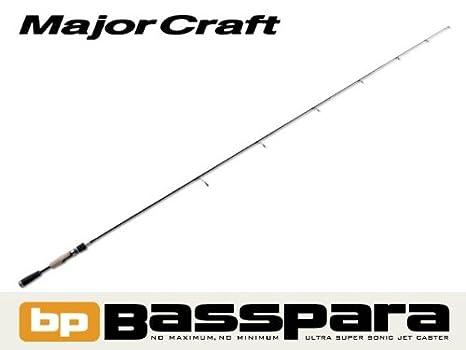 メジャークラフトバスロッドスピニングバスパラ1ピースモデルBPS-66M釣り竿の画像