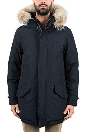 Parka dkn Polar Giubbotto S Wocps2605 Hc Tg Col Woolrich Uomo Blu qSOBwct
