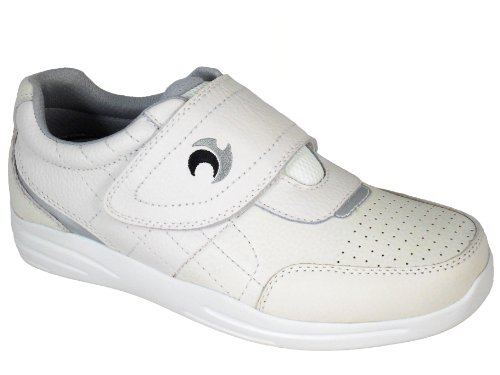 Men's Henselite Pro Sport Velcro Quality Leather Lawn Bowls Shoes Sizes 6 to 13 XkXSapA4zB