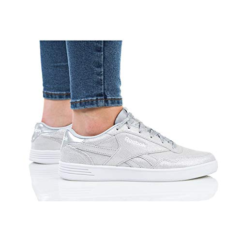 000 Reebok Royal Metallic Techque white Femme Chaussures Grey T Solid Fitness Multicolore silver lgh De 66arq