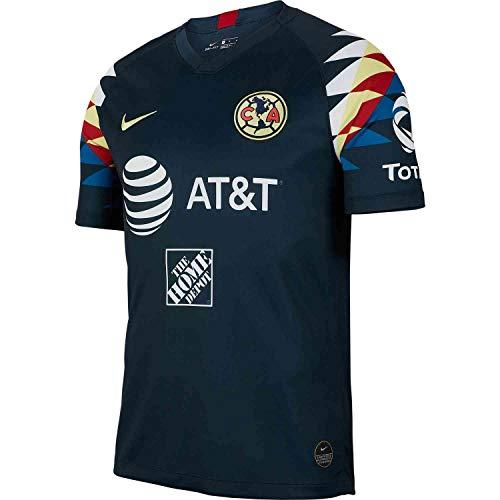 Nike 2019-2020 Club America Away Jersey (Armory Navy) (S) (Club America Jerseys)