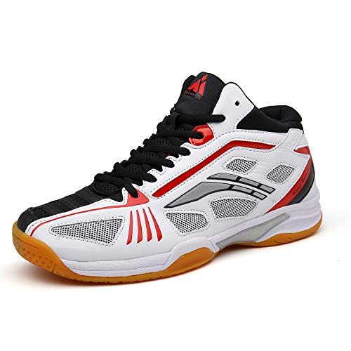 Mishansha Men's Hard Court Tennis Shoes Non Marking Outdoor Racquetball