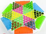 DHmart Colorful Large Glass and Plastic Beads Balls Marbles Checkers ren's Toys Adult Leisure Jumping Chess