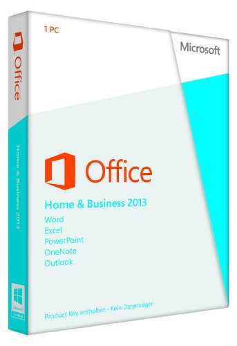 Microsoft Office Home and Business 2013: 1PC (Product Key Card ohne Datenträger)