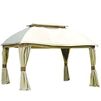 Garden Winds Replacement Canopy for Samu0027s Club Dome Gazebo - Riplock 350 Performance Fabric  sc 1 st  Amazon.com & Amazon.com: Garden Winds Replacement Canopy for Samu0027s Club Dome ...