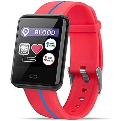 Lynn025Keats FIT41 Smart Bracelet Fitness Tracker waterproof Smart Wristband Heart Rate Monitor Tracker Blood Oxygen Sport Smart Band Estimated Price £28.85 -