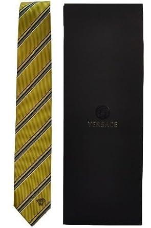 Versace Corbata Tie Cravatta Corbata con caracterizan Versace ...