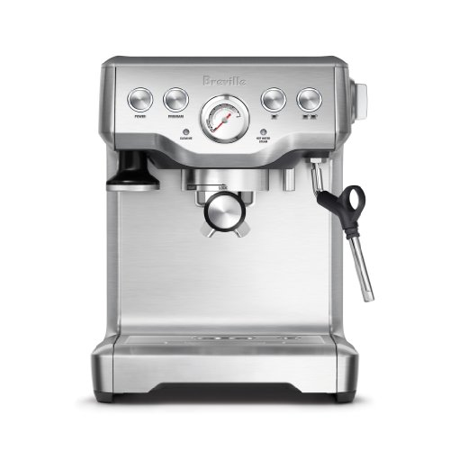 Breville BES840XL BES840XL/A The Infuser Espresso Machine, 100, Stainless Steel