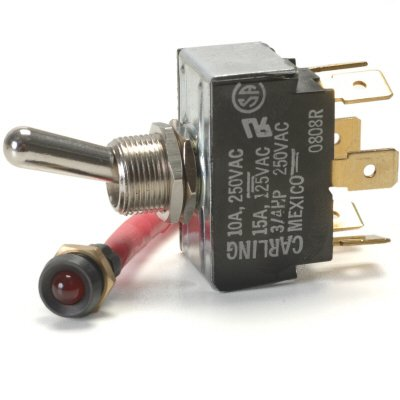 Ignition Warning Light (Auto Disabler Kit With Low Current Flashing LED Warning Light Disables Ignition Or Fuel Pump)