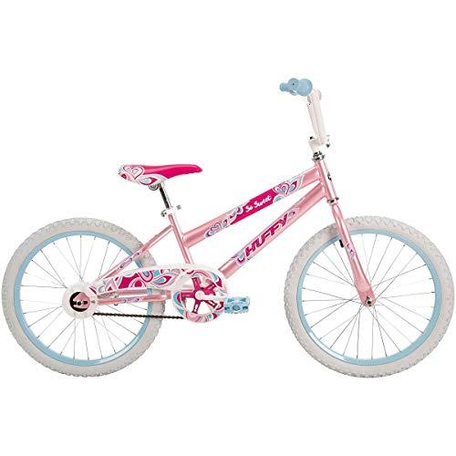 Huffy Bicycle Company So Sweet Single-Speed Girls' Bike, Bubblegum Pink, ()