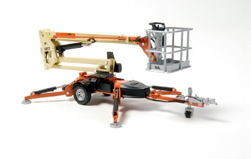 1/32 JLG T350 Diecast Trailer Mounted Boom Lift