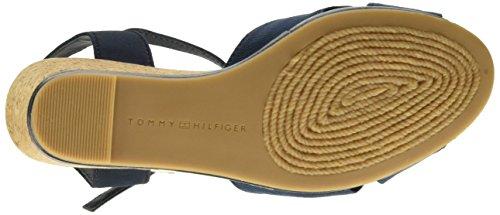 Tommy Hilfiger E1285mily 20d - sandalias con correa Mujer Bleu - Blu (Midnight 403)