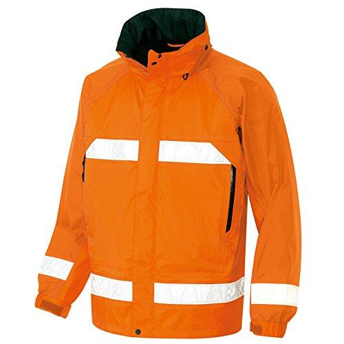 (DIAPLEX) デュアプレックス (防水透湿) 全天候型リフレクタージャケットレインウエア(反射材付) (AZ56303) 【S~5Lサイズ展開】 B00XJ6P3EU LL|オレンジ オレンジ LL